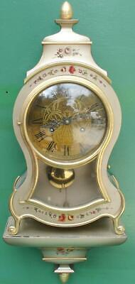 Yuerdon Lac Neuchatel Vintage Swiss 8 Day Boulle Type Bracket Clock