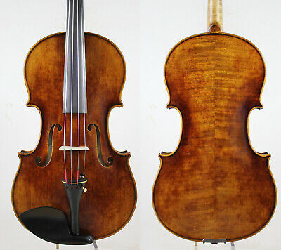 Oil Antique Vanish!A Strad Viola 16 inch Copy!  #5966 Deep warm tone!