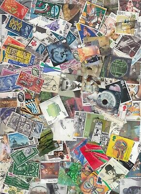 GREAT BRITAIN 400 different lot of commemorative & large HIGH values