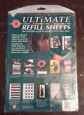 Factory Sealed Innova Ultimate Refill Sheets - A4 / 21cm x 30cm 5 Sheets