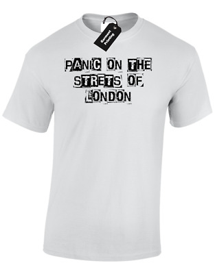 Panic On Streets Of London Mens T Shirt The Rebellion Smiths Protest Revolution