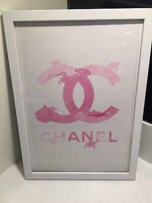 Coco Chanel Print A4 Home Decor Fashion Print Poster Wall Art