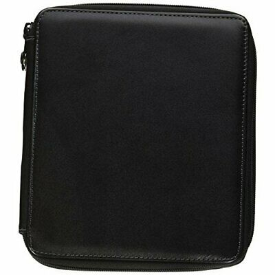 Speedball / Global Art 414720 Leather Black Empty Pencil Case 72 Count Compact
