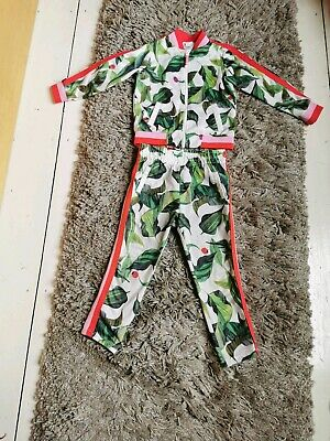 H&M Girls Ladybird Tracksuit Size2 - 4 Years