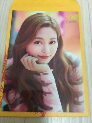 TWICE TZUYU HAPPY HAPPY JAPAN Hi Touch Limited Official Trading Photo Card e
