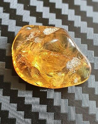 1.94 - Genuine Natural  Antique Old Baltic Amber Stone Bernstein polishing