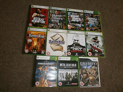 ORIGINAL XBOX GAME BUNDLE x10 SHOOTERS All Games Complete