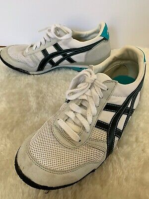Asics Onitsuka Tiger Ultimate 1981 Womens Retro Athletic Shoes Size 8 HN567