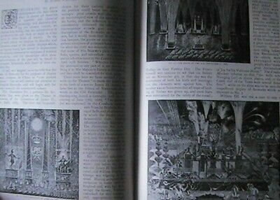 Fireworks Display History Pyrotechnics Rare Antique Old Photo Article 1897