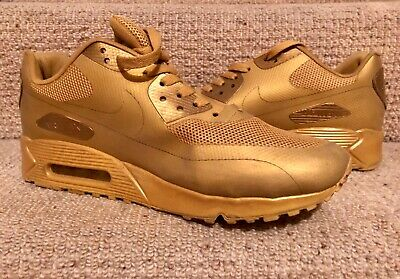 ❤️ NIKE AIR Max 90 Hyperfuse Independence Day Gold size UK