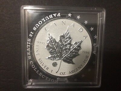 2011 Canada $5 F15 Privy Mark Silver Maple Leaf Coin 1oz .9999 fine Fabulous 15