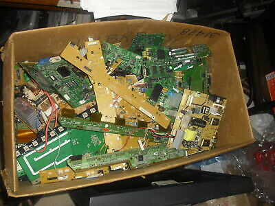 30 lbs of Scrap Circuit Boards for Gold or Electronic Component Recovery