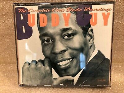 """Buddy Guy Used Double CD """"The Complete Chess Studio Recordings"""""""