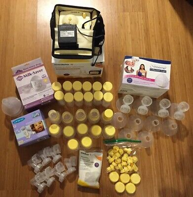 Pumping Accessories Lot (Medela - Freemie - Milk Saver - Storage Bags)