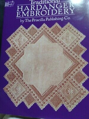 Traditional HARDANGER Embroidery Dover 1985 reprint from 1924 Vintage designs
