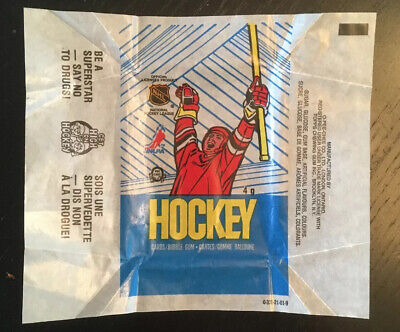 1989-90 OPC Wax Pack Wrapper! No Rips Or Tears!