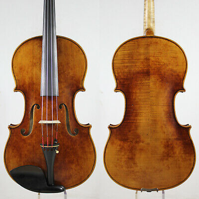Oil Antique Vanish!A Strad Viola 16 inch Copy!  #5842 Deep warm tone!