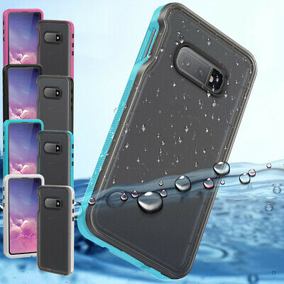 For Samsung Galaxy S10e Full Body Heavy Duty Waterproof Case  Screen Protector