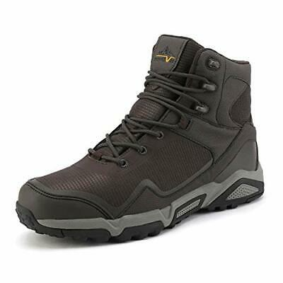 NORTIV 8 Fashion Men's Waterproof Outdoor Mid Hiking Boots Backpacking Shoes US
