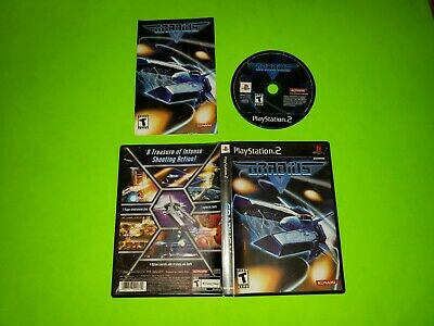 Gradius V 5 PlayStation 2 PS2 COMPLETE CIB GOOD TESTED SHMUP Konami Shooter