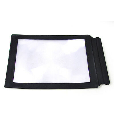 A4 Full Page Magnifier Sheet Magnifying Glass Reading Aid Lens 3X Big New