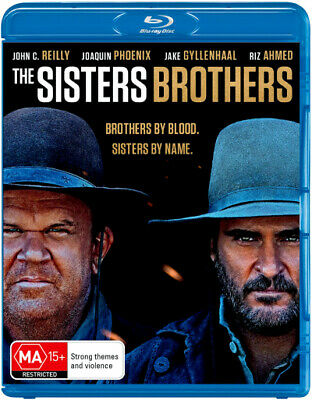 The Sisters Brothers  - BLU-RAY - NEW Region B