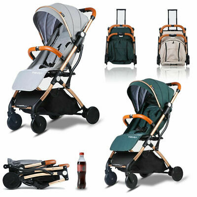Foldable Baby Stroller Pram Compact Lightweight Jogger Travel Carry-on Plane