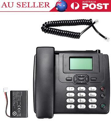 HOT FIXED WIRELESS GSM Desk Phone SIM Card Mobile Home Office