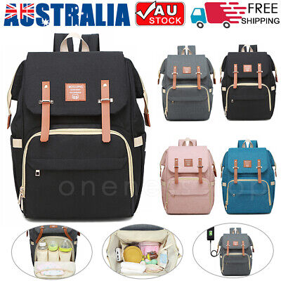 Baby Diaper Nappy Backpack Luxury Multifunctional Mummy Waterproof Changing Bag