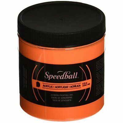 Speedball Art Products 46215 Acrylic Waterbase Screen Printing Ink 8Oz Fluore...
