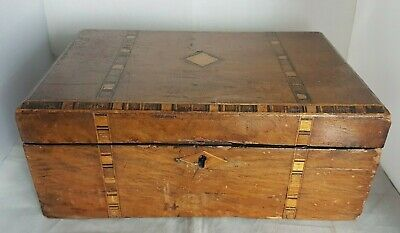 Beautiful Antique Wooden Storage Box (Weight -1.1 kg)