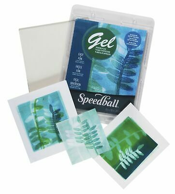 Speedball Art Products 008000 Gel Printing Plate 5X5
