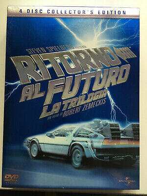 DVD Box RITORNO AL FUTURO La Trilogia 4 DVD Italiano/English/Croatian/Slovenian