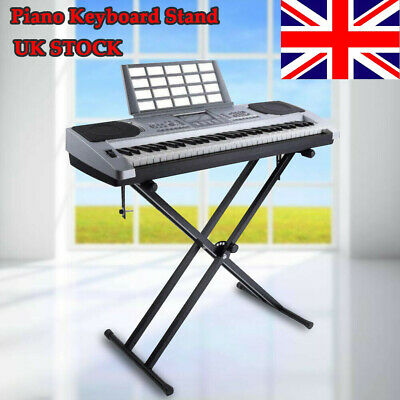 X-Style Stand Music Electronic Piano Keyboard Standard Portable Racks Adjustable