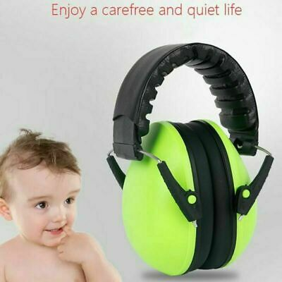 Child Kids Folding Ear Defenders Noise Reduction Protectors Muff Children Baby