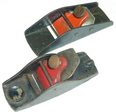 """Antique Stanley Finger Block Plane 3 1/2"""" Long Stanley No 101 and Stanley"""