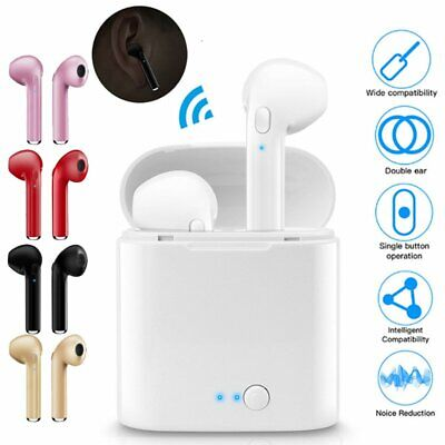Dual Wireless Bluetooth5.0 Earphone Earbuds for Samsung Galaxy Note9 S9 S10 Plus