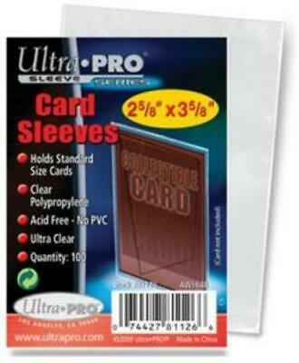 200 Ultra-Pro Soft Penny Card Sleeves (Standard Size) NO PVC, NEW SEALED PACK