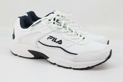 481fec73 FILA MEN'S MEMORY Sportland Running Sneakers White/ Navy US 9.5W ...