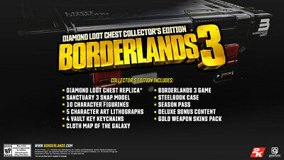BORDERLANDS 2 DIAMOND Loot Chest Individual Shift codes for Xbox 360