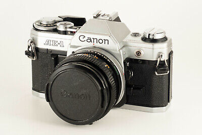 CANON AE-1 35mm FILM CAMERA KIT#