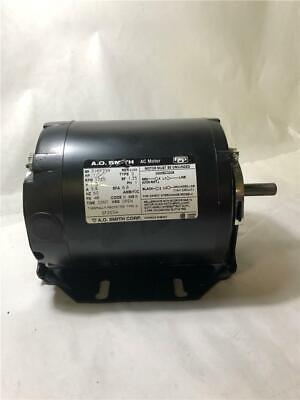 A.O. Smith GF2034 Blower Motor (HP 1/3) (Volts 115) (RPM 1725)