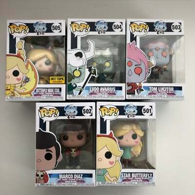 Funko Pop: Star Vs The Forces of Evil Complete Set: Star Ludo Tom Marco