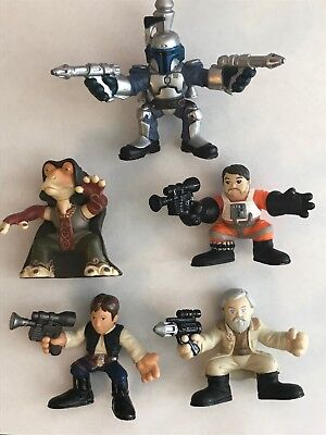 Star Wars Galactic Heroes Series Action Figures by Hasbro - Lot of 5