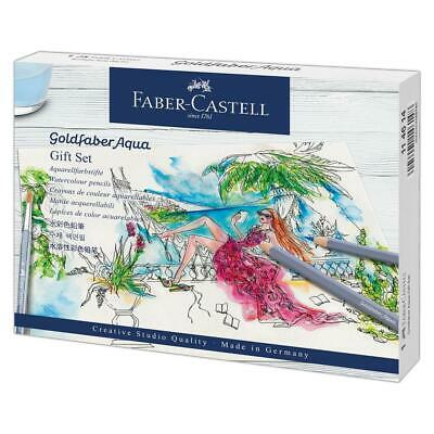 Faber Castell 18 Piece Goldfaber Aqua Pencil Gift Set FC114614