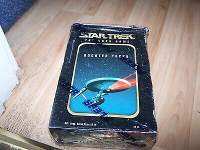 Star Trek The Card Game Booster Packs  Full Box