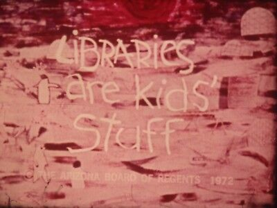 Libraries Are Kids Stuff 1972 16mm short film Documentary