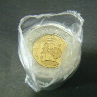 2011 Canada $2 Boreal Forest Toonie original Mint wrapping coin Roll two dollar