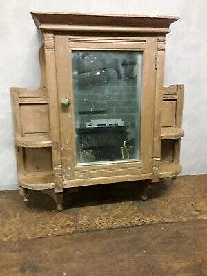 Vintage Pine Wall Cupboard /Cabinet- Small and Attractive - Shabby Chic