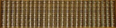 LEATHER Set;SIR WALTER SCOTT,WAVERLY NOVELS!Complete ANTIQUARIAN Gorgeous!(1870)